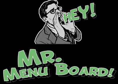 Mr. Menu Board
